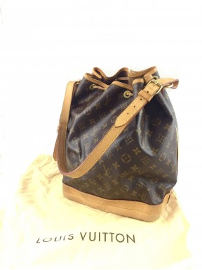 Louis Vuitton Noe Monogram canvas borsa secchiello Usata bella