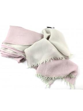 Hermes stola Foulard Seta silk 100% Rosa double grand