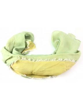 Hermes stola Foulard Seta silk 100% Giallo double grand