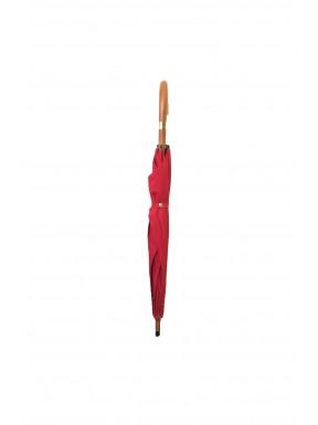 Hermes umbrella Parapluie Rosso Tessuto in legno di canna