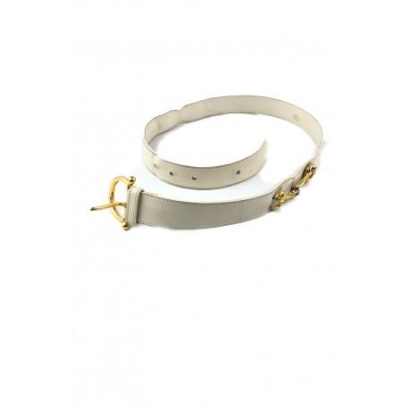 alta moda 4d718 ee4f3 Gucci cintura belt bianca horsebit vintage plaque usata - Beatrice Gioielli  | Vendita di Orologi - Pelletteria e Oggettistica di lusso