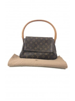 Louis Vuitton Mini looping Monogram Canvas Usata Ottima