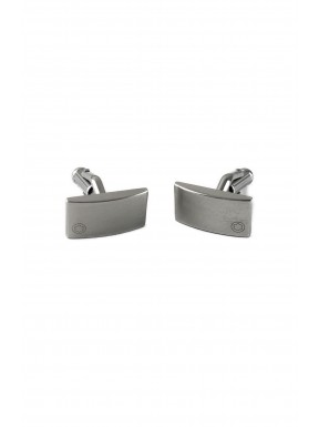 Montblanc gemelli cufflinks acciaio completo ottimo