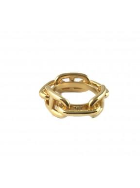 Hermès anello Regate plaque or usato con scatola