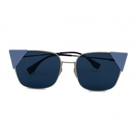 Fendi occhiali sunglasses butterfly silver ottimi usati