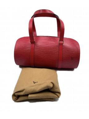 Louis Vuitton soufflot epi rossa ottima usata